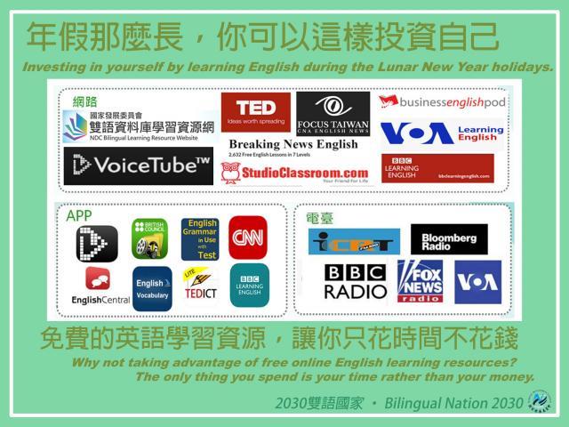免費英語學習資源